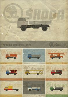 Cars And Motorcycles, Trucks, Behance, Illustrations, Rap, Paris, Design, Vehicles, Automobile