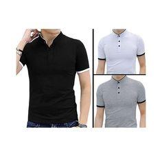ee293fcd2b7 Pack Of 3 Multicolour Cotton Neuva Shape T Shirt For Men