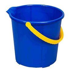 Vedro Neco Secchio 10 lit, modré, s výlevkou Bucket, Buckets, Aquarius