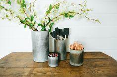 Zinc Norah Vase | The Magnolia Market