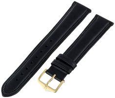 Hirsch 015750-50-18 18 -mm Genuine Leather Armbanduhr Strap - http://uhr.haus/hirsch-17/hirsch-015750-50-18-18-mm-genuine-leather-strap
