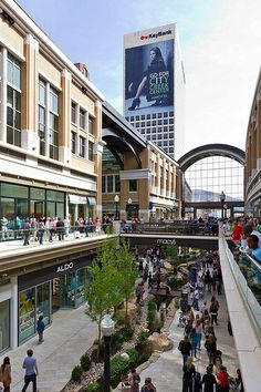 City Creek Center Mall on Opening Weekend
