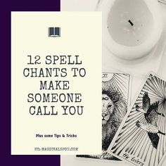 12 Spell Chants To Make Someone Call You [Instant Spells] Free Love Spells, Easy Spells, Luck Spells, Money Spells, Full Moon Love Spell, Love Spell That Work, Witchcraft Spell Books, Wiccan Spell Book, Occult Books