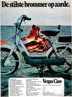 Vespa Ciao, Holland 1971 Ingrid's brommer.