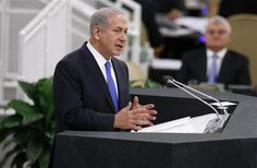 "Netanyahu declares to world leaders: ""In our time the Biblical prophecies are being realized."""