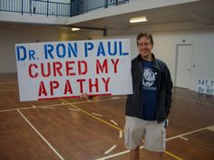 Dr. Ron Paul cures political apathy!