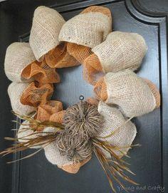 Fall wreaths Beeskneesvintagegarden