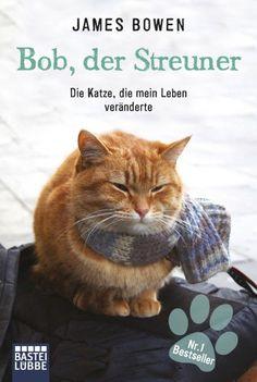 """Beate P's #CybookReads """"Bob, der Streuner"""" (A Street Cat named Bob) von James Bowen #FridayReads"""