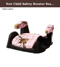 New Child Safety Booster Seat Girl's Toddler Car Seat Travel Youth Safe Kid's. Product Dimensions in inches- 15.0 x 17.25 x 9.5 Your child can enjoy comfort and you can enjoy peace of mind when you use the Cosco Ambassador Booster Car Seat. It is a forward-facing and belt-positioning booster car seat that can accommodate a child of 40-100 lbs. It features an authentic Realtree camouflage pattern that young hunters are sure to appreciate. This Cosco booster car seat comes with a flip-down…