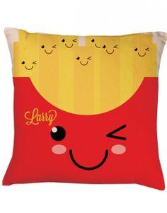 French Fries CUshion | Kawaii http://www.designmemygift.co.uk/product/french-fries-cushio/