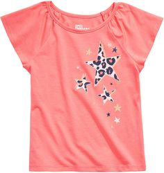 Epic Threads Toddler Girls Leopard Stars T-Shirt Cute Tops For Girls, I Love Girls, Cute Tshirts, Cool Shirts, Sculptural Fashion, Baby Clothes Shops, Trendy Plus Size, Cool Style, Girl Outfits