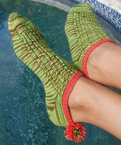 Color Inspiration: Knit Socks of All Sorts ~ http://clrlv.rs/9L8XAN