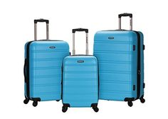 Rockland Luggage Melbourne 3 Piece Set Turquoise One Size Rockland Luggage Melbourne Piece Turquoise is a top quality pick in the best selling products in Luggage category in USA. Click below to see its Availability and Price in YOUR country.
