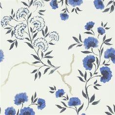 jacaranda - delft wallpaper | Designers Guild