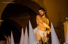 Jesús atado a la columna by Jairo Angarita Navarro, via Flickr