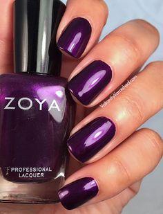 Valiantly Varnished: Zoya Flair Collection Giada