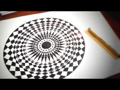 Rays From The Centre ✐ How To Draw Geometric Art   DearingDraws - YouTube