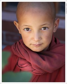 I love photos of Children. This one is so powerful. Her eyes looks right into you.