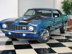 1969 Chevy Camero #Cars #Speed #HotRod