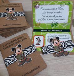 1st Birthday Themes, Safari Birthday Party, Mickey Birthday, Baby First Birthday, 4th Birthday Parties, Safari Invitations, Safari Theme, Mickey Minnie Mouse, Pop Up