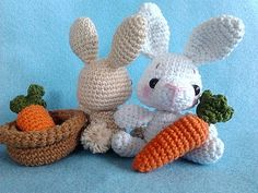 Ravelry: Amigurumi Pattern-Baby Bunny pattern by Lucy Rose