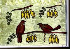 stained glass wood pigeon - Google Search Wood Pigeon, Nativity, Stained Glass, Embroidery, Gallery, Drawings, Painting, Inspiration, Enamel