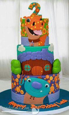 Wallykazam cake