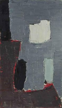 Nicolas de Staël, Composition, 1950 on ArtStack #nicolas-de-stael #art