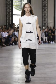 Lou Stoppard reports on the Rick Owens show - Rick Owens @ Paris Menswear S/S 2016 - SHOWstudio - The Home of Fashion Film