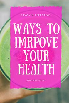 If you're looking to feel and look your best, check out this list of ways to be healthier right now! #healthyliving #livingahealthylife #healthytips #wellnesstips #feelbetter