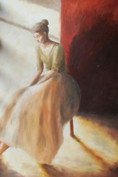 Painting, Art, Oil On Canvas, Canvases, Ballerinas, Art Background, Painting Art, Kunst, Paintings