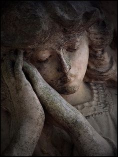 Stone angel from Balmoral Cemetery (AKA Morningside), Brisbane, Australia