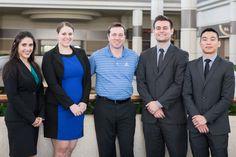 University of Oregon team and adviser: Christina Early, Jenny Swaim,   Paul Swangard, Matthew Van Wyen & Gary Wang