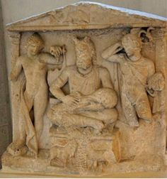 Apollo, Cernunos and Mercury