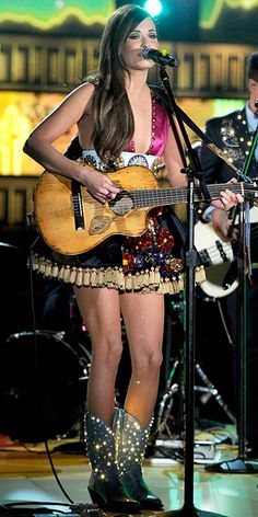 Perfection. Kacey Musgraves's Light-Up Boots: The Best Accessory at the Grammys? | People.com