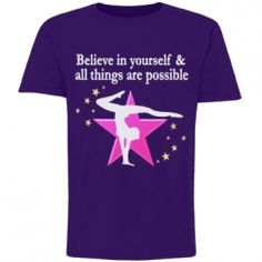 GYMNAST GOALS AND DREAMS Awesome personalized Gymnastics Tees and Gifts! http://www.customizedgirl.com/s/JLPOriginals  #Gymnastics #Gymnast #WomensGymnastics #Personalizedgymnast #Ilovegymnastics