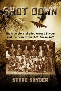 Author Steve Snyder's Military Aviation Book, 'Shot Down', Chosen As Book Of The Year By OnlineBookClub - 'Shot Down', has received 22 industry awards. Snyder's father was shot down over Europe during WWII. 'Shot Down' is a dramatic retelling of the stories surrounding that event