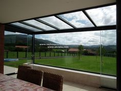 Imagenes de cerramientos de terrazas - Akrista Mini Loft, Glass Extension, Villa, Outside Living, Winter, New Homes, Backyard, Exterior, Windows