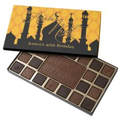 Arabian Nights, Birthday Chocolates