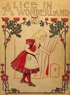 This is the picture I would make my program because of the story it tells. Alice in Wonderland is about how Alice found another world. That is what the picture shows. The color is very vibrant. Instead of having her dress red, I would make it blue. This picture is exactly how the program would look like.