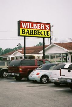 Wilbur's Barbecue, Goldsboro, NC - IMHO, the best Eastern NC-style Pork BBQ around --- not to mention Brunswick Stew, and HUSHPUPPIES!