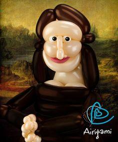 inflated Mona Lisa!... LoL