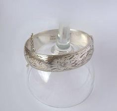 Vintage Forstner Sterling Silver Bangle by MargsMostlyVintage