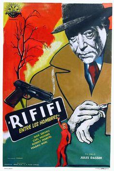 Du rififi chez les hommes (1955) [Rififi / Rififi entre los hombres]