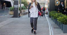 8 Ways to Wear a Leather Jacket Like a New Yorker via @PureWow