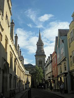 Oxford - Turl Street!-Living vicariously through you Debbie...I love Oxford!