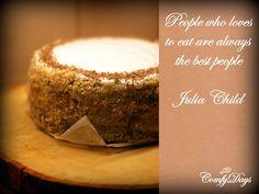 ComfyDays: Julia Child´s VIP cake + Cooking the chef challenge (la receta disponible en español también)