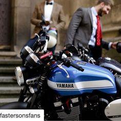 On special offer at SMC Bikes! Yamaha XJR1300 / Sport Heritage   Faster sons   @yamahamotor_es @yamahamotoreu @yamahacaferacers   Photo: @klmwear   #fastersons #yardbuilt #yamaha #xjr #xjr1300 Repost @fastersonsfans http://ift.tt/2gamhKP