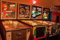 Pinball machines  -.