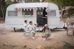 Tartas y dulces para bodas - La Caravana Vintage. Mesas de dulces, precios, fotos, opiniones y teléfono.  Elige el catering de tu boda fácilmente.